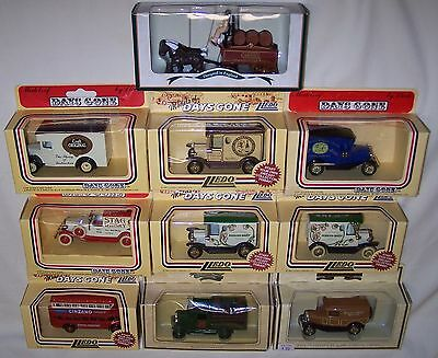 Ten Lledo Days Gone Liquor Advertising Trucks Canadian Club J&b Whisky Mib
