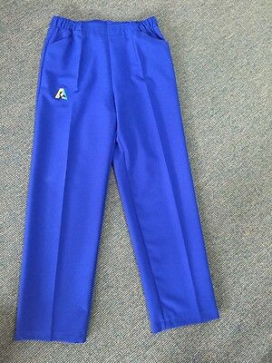 Holland Park BA Logo Bowls Australia LADIES Lawn Bowls Slacks - Royal Blue