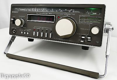 Sony CRF-1 Shortwave Radio Receiver ***RARE - COLLECTABLE UNIT***WITH ACP-122W