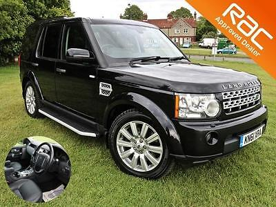 2011 (61) Land Rover Discovery 4 3.0SD V6 255bhp auto HSE FACELIFT BLACK 7 SEATS