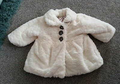 Baby girls coat 0-3 months