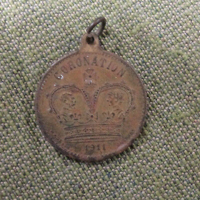 #d304. 1911 Coronation Medal - Barratt & Co. Sweets Are Pure