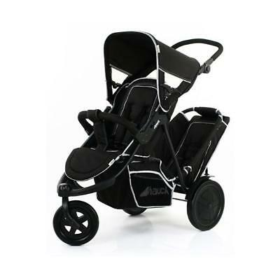 Hauck Freerider Tandem Buggy (Black) In-line Double Pushchair 6m+