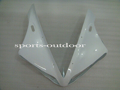 Front head cover nose Fairings for 2004-2006 Yamaha R1 2005 Injection Mold White