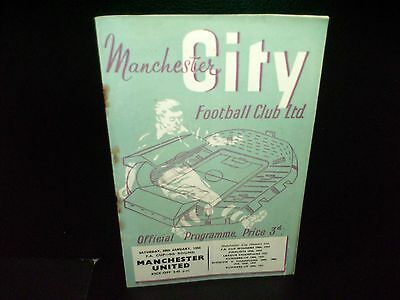 1954/1955  Manchester City  V.  Manchester  United   Fa   Cup  Match.