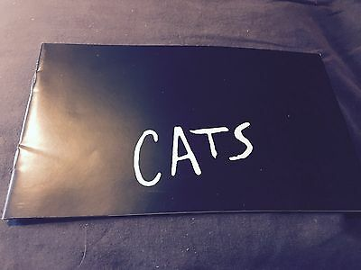 Cats Programme From Birmingham Hippodrome 1995