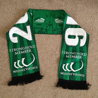 Widnes Vikings Rugby Scarf New