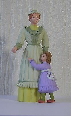 Dolls House 1 :12 scale Victorian Lady with Child  Dolls House Figure