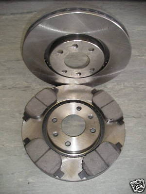 PEUGEOT 206 2.0 Gti (180Bhp) FRONT BRAKE DISCS AND PADS(283mm) NEW COATED DESIGN