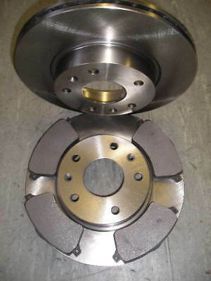 Landrover Freelander Td4 Front Brake Discs And Pads 2001-2006 Next Day Delivery