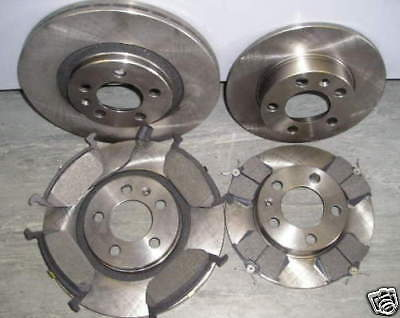 Mk4 Vw Golf 1.9 Tdi Front And Rear Brake Discs & Pads 1998-'04 New Coated Design