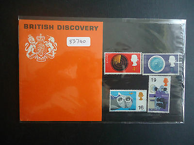 Great Britain 1967 British Discovery Presentation Pack MNH
