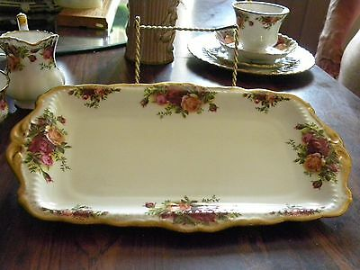 ROYAL ALBERT SERVING TRAY/Old Country Rose/England