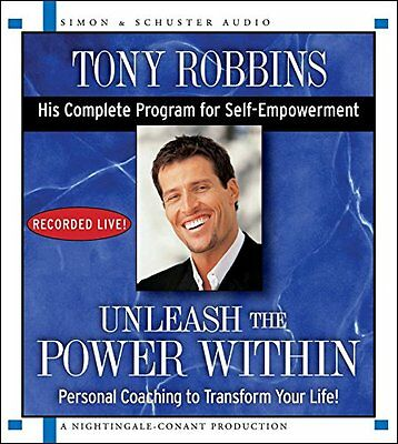 Unleash the Power Within Personal Coaching from Anthony Robbins That Will Tra 0