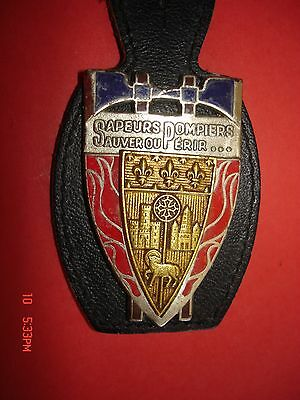 Joli Ancien  Rare(Obsolete) Insigne Collection  Pompiers   Toulouse