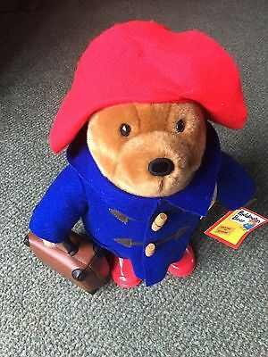Classic Large 40cm Paddington Bear with Boots & Suitcase New