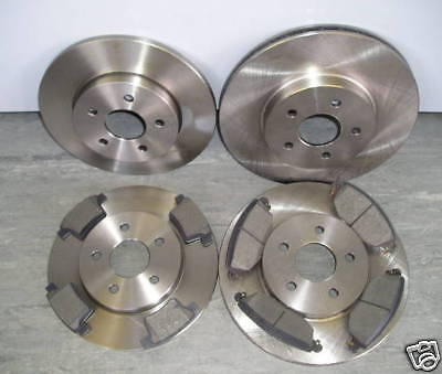 Mk3 Ford Mondeo 2005-2007 Front & Rear Brake Discs And Pads