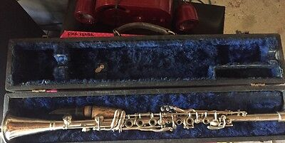 Three Star Silver Metal Clarinet Vintage