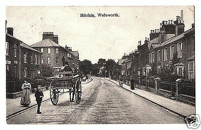 HOT 1908 Postcard, Wolsworth (sic), Hitchin, Hertfordshire