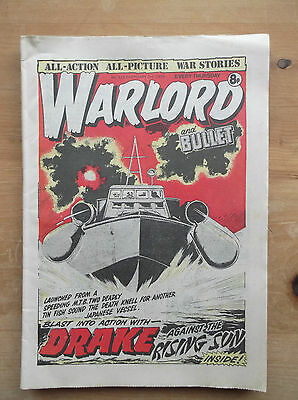 WARLORD and BULLET COMIC No.228 3rd FEB 1979 ALL-ACTION ALL-PICTURE WAR STORIES