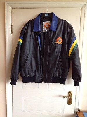 WARNER BROS Looney Tunes Gents Leather Jacket  size XL bnwot