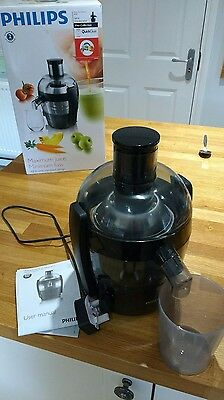 Philips Viva Collection Juicer (Boxed + Manual)