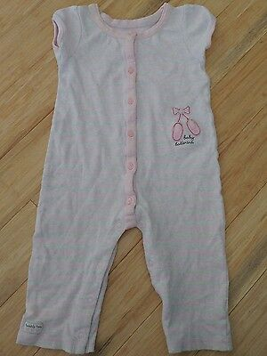 Carters Baby Girls One Piece Outfit with Ballet Slippers Size 18 months