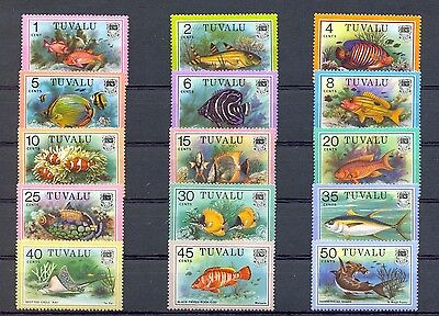 English Colony Tuvalu 1979   15   St.  Fish   **  Mnh Vf