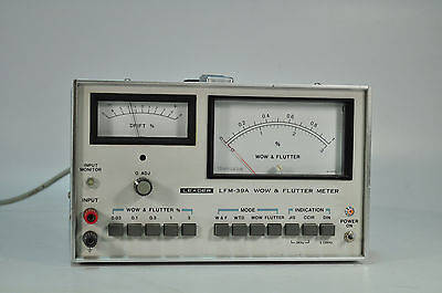 Vintage Leader LFM-39A Wow and Flutter Meter