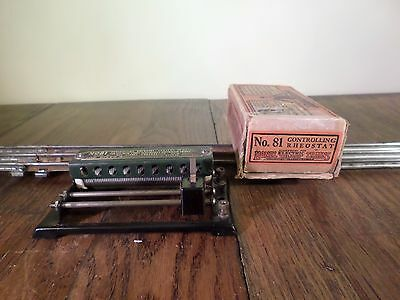Lionel no. 81 controlling rheostat with box