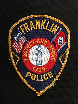 Franklin Tennessee  Police  Shoulder Patch  Used