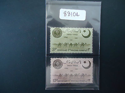 Pakistan 1952 Centenary (SG 63-64) (2v Set) Mounted Mint