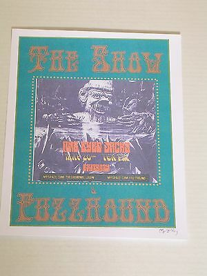 THE SHOW at ONE EYED JACKS Concert Poster Signed in Pencil
