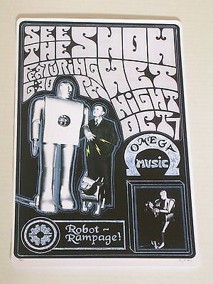 SEE THE SHOW at ROBOT RAMPAGE Concert Poster Signed & Numbered in Pencil