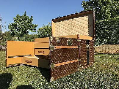 Beautiful Louis Vuitton Old Trunk Malle Good Condition