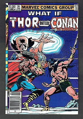 What If The Mighty Thor Battled Conan The Barbarian #39 Marvel Comics VF+ 1983