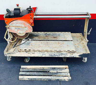 "Rubi Ds-300 Tile Saw 12"" **Local Pick-Up Only"