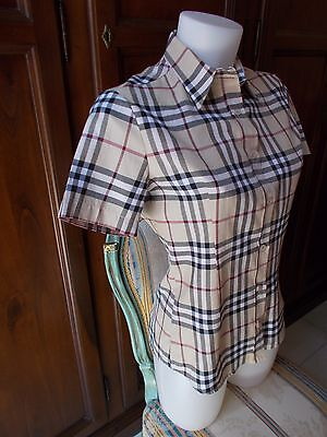BURBERRY LONDON Camicia DONNA WOMEN'S Shirt Tg / SIZE M