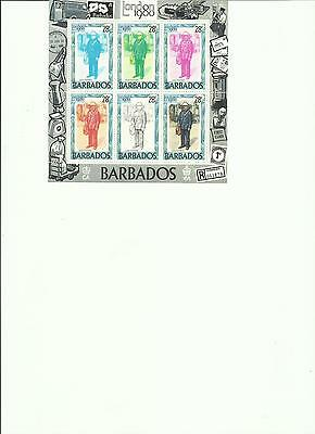 Barbados - London 1980 - Miniature Sheet