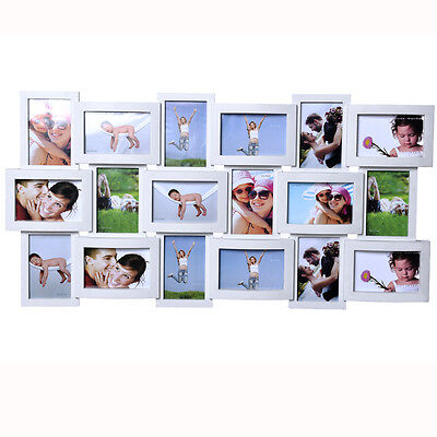 Large Multi Aperture Photo Picture Frame Holds 6 39 39 X4