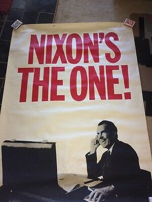 Nixon's The One! 60x 44 Inch Poster
