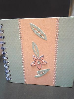 New Photo /memo album-4 X 6 photos-holds 40 pictures-Pink & Bl