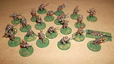Metal Figures on pennies green bases used as shown