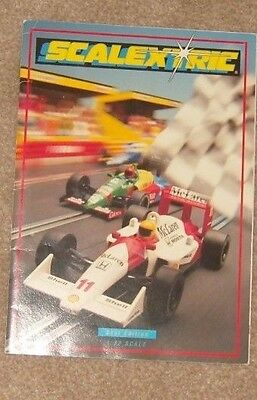 1990 Scalextric catalogue 31st edition