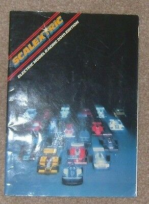1979 Scalextric catalogue 20th edition