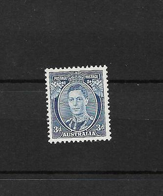 Australia,, 1937 SG 168c,, 3d. type II,,, very fine lightly m/mint, excellent
