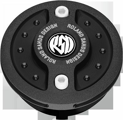 Fuel Gauge Cap Without LED Fuel Light  Radial   Black Ops RSD 0210-2032-SMB