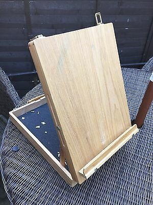 Winsor And Newton Artist Wooden Easel Table Box £42