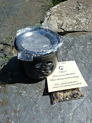 """soapstone """"pentacle"""" incense burner Pagan Wiccan Birthday Thankyou Gift Friend"""