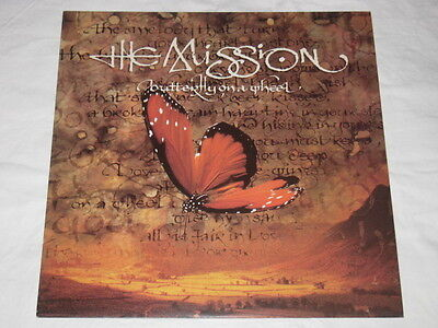 "MISSION - Butterfly On a Wheel UK 12"" 3 Track"